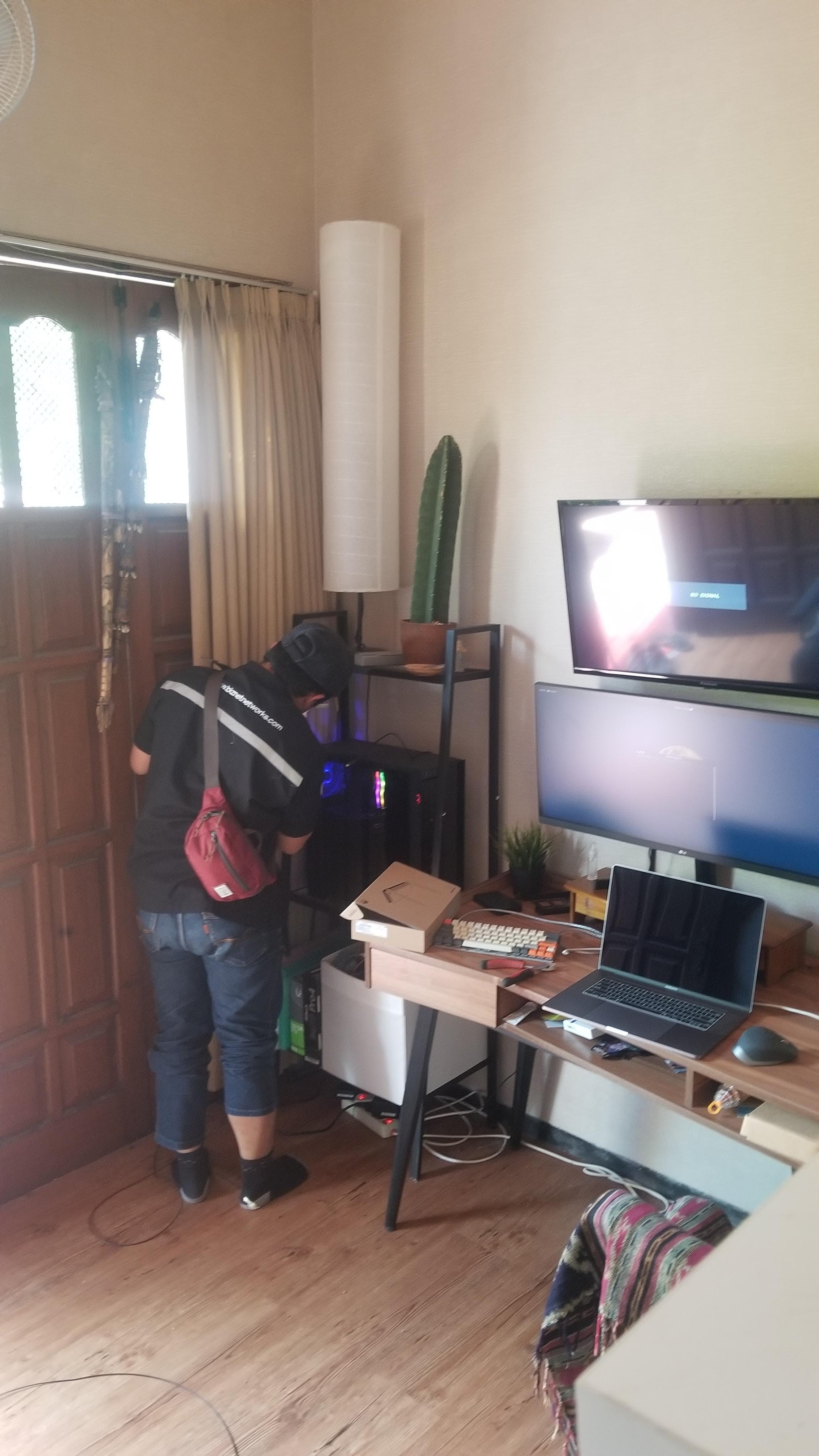 Review dan pemasangan internet Biznet Kota Malang